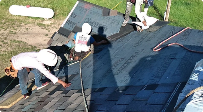 Roofing runs in the family